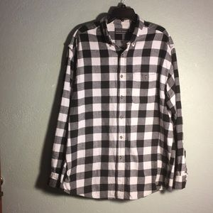 Other - David Taylor Plaid Flannel Long Sleeve Shirt